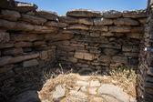 Dragon stone houses — Foto de Stock