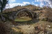 Captain Arcoudas old stone bridge — Stockfoto