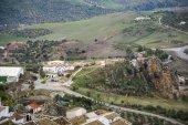 Utsikt över Zahara de la Sierra landskap — Stockfoto