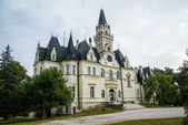 Beautifil Castle in Slovakia — Stock Photo