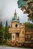 Unusual stone castle in Andalucia — Stock Photo