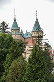 Bojnice eski ortaçağ kale — Stok fotoğraf