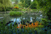 Spring gardens of Giverny — Stock Photo