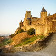 View of old fortified Carcassonne town — Stock Photo #62986419