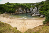 Picturesque Gulpiuri beach — Foto de Stock