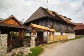 Small village in Slovakia — Stock Photo
