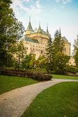 Old medieval Castle in Bojnice — 图库照片
