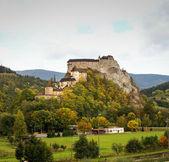 奥拉瓦的古老中世纪城堡 — 图库照片