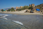 Château de Frangokastello plage — Photo