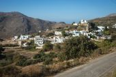 Beautiful landscape of Amorgos island — Stock Photo
