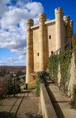 Castle at Valencia de Don Juan — Stock Photo
