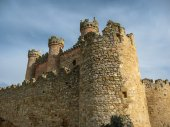Turegano castle — Fotografia Stock