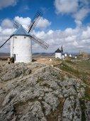 Windmolens op Consuegra — Stockfoto
