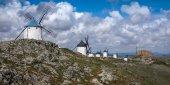 Mulini a vento a Consuegra — Foto Stock