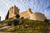 Castle at Villena — 图库照片