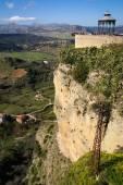 Città di Ronda sulle scogliere — Foto Stock