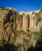Ronda city on cliffs — Stock Photo