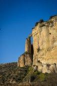 Ronda city on cliffs — Fotografia Stock