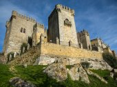 Medieval castle at Almodovar del Rio — Stock Photo