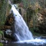 Frozen stream at winter — Stock Photo #64315029