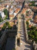Almansa Burg — Stockfoto