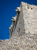 Medieval castle at Tiedra — Stock Photo