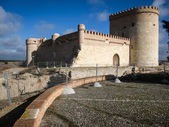 Old medieval castle in Arevalo — Stock Photo