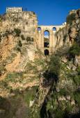 Ronda city on the rock in Andalusia — Stock Photo