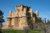 Old medieval Guadamur castle — Stock Photo