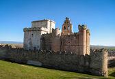 Old medieval Turegano castle — Stock fotografie