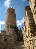 Old medieval Almansa castle — Stock Photo