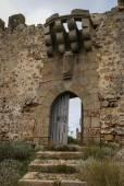 Slott på Burqillos del Serro — Stockfoto