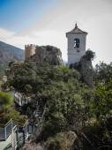 El Castell de Guadalest — Stock Photo