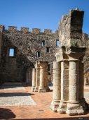 Old Adrada castle — Stock Photo
