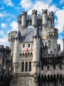 Old medieval Castle Butron — Stock Photo
