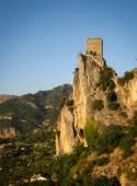 Gün batımında antik kale — Stok fotoğraf