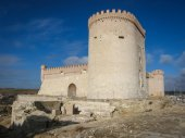 Old castle in Arevalo — Stock Photo