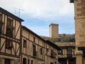 Penaranda del Duero in Burgos — Stockfoto