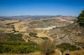 Landscape with Moclin village — Stock Photo