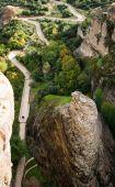 Monastery of Holy Trinity in Meteora — Stock Photo