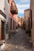Cityscape at Monemvasia, Peloponnese, Greece — Stok fotoğraf