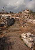 Ruinas griegas antiguas — Foto de Stock