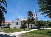 Kościół z muszelek — Zdjęcie stockowe