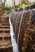 Водопады Monasterio-де-Пьедра — Стоковое фото