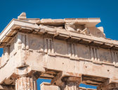 Ruins of the ancient Acropolis in Athens — Stockfoto