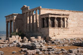 Ruins of the ancient Acropolis in Athens — Stock Photo