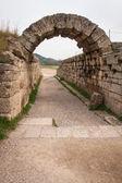 Antike griechische Ruinen des antiken Olimpia — Stockfoto