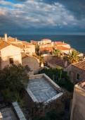 Cityscape at medieval town of Monemvasia — Stock Photo