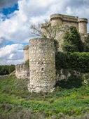 Ruins of a castle in Sesena — Stock Photo