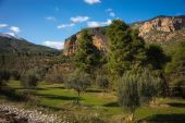 Vouraikos gorge, Peloponnese — Stock Photo